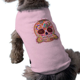 Sugar Skull Doggie T-Shirt