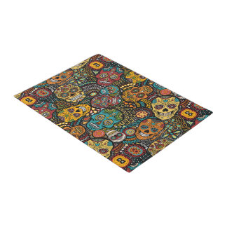 SUGAR SKULL Door Mat Halloween