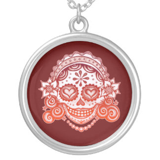 Sugar Skull Female Necklace