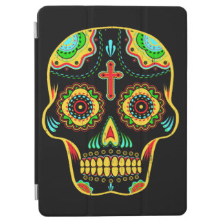 Sugar skull full color iPad air cover