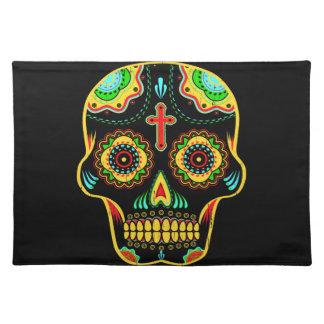 Sugar skull full color placemat