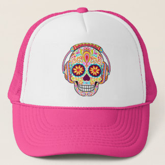 Sugar Skull Hat - Day of the Dead Cap