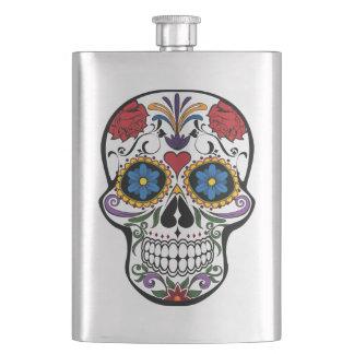 Sugar Skull Hip Flask