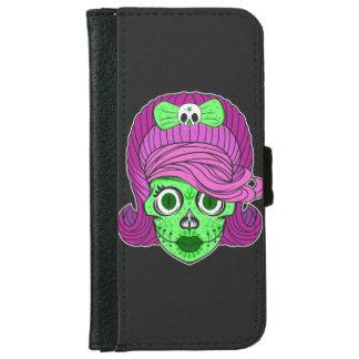 Sugar Skull iPhone 6 Wallet Case