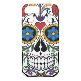 Sugar skull iPhone 7 Plus tough case