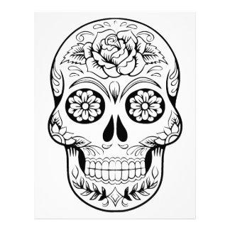 Sugar Skull Letterhead