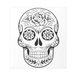 Sugar Skull Notepad