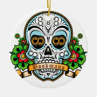 Sugar Skull Original Ceramic Ornament