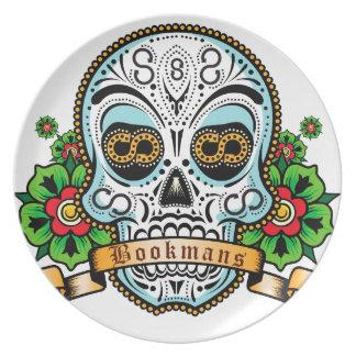 Sugar Skull Original Plate