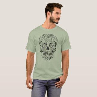 Sugar Skull Outline T-Shirt