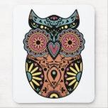 Sugar Skull Owl Colour