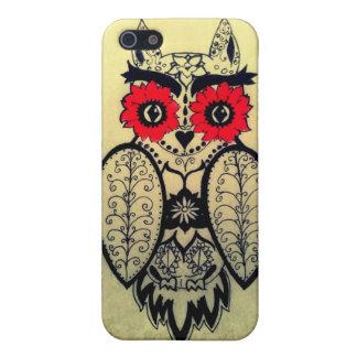 Sugar Skull Owl iPhone 5 Covers