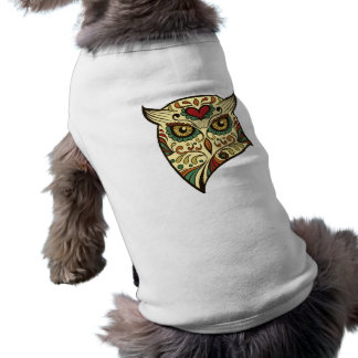 Sugar Skull Owl - Tattoo Design Shirt