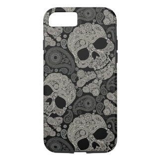 Sugar Skull Pattern Case-Mate Tough iPhone 7 Case