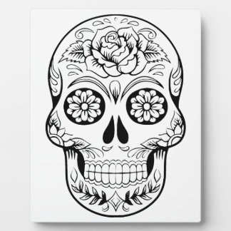 Sugar Skull Plaque