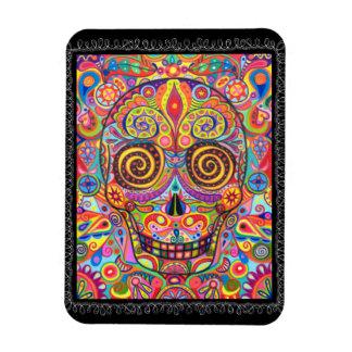 Sugar Skull Premium Magnet Day of the Dead
