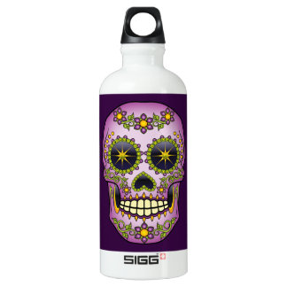 Sugar Skull Purple Floral