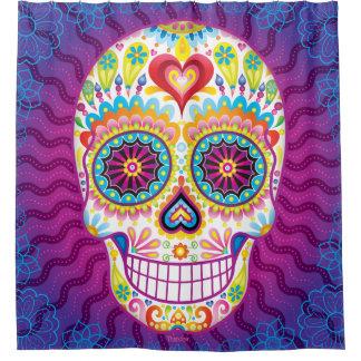 Sugar Skull Shower Curtain - Day of the Dead Art