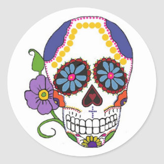 Sugar Skull Stickers