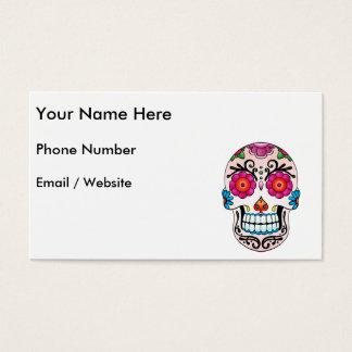 Sugar Skull - Tattoo Art Business Card