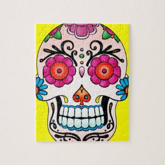 Sugar Skull - Tattoo Art Jigsaw Puzzles