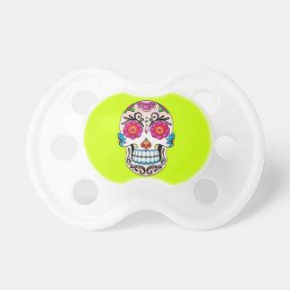 Sugar Skull - Tattoo Art Baby Pacifiers