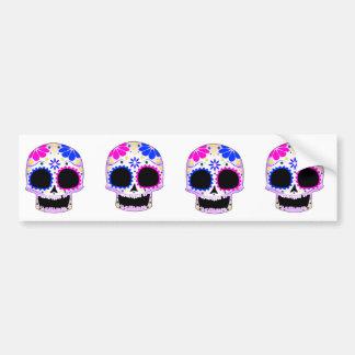 Sugar Skull - Tattoo Design Bumper Stickers