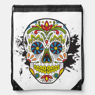 Sugar Skull, Tattoo Skull, Mexican Skull Backpack
