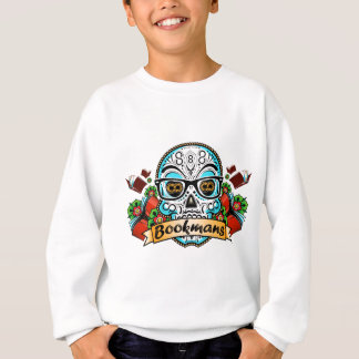 Sugar Skull W/ Glasses Sweatshirt