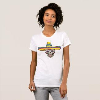 Sugar Skull w/Sombrero T-Shirt