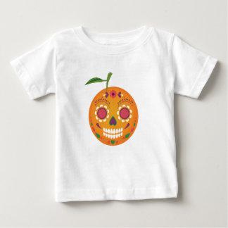Sugar Skull White Toddler T-Shirt