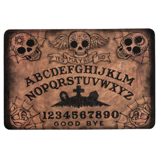 Sugar Skull Witch Board Floor Mat