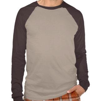 Sugar Skull with Gas Mask & Wings (brown) Tee Shirt
