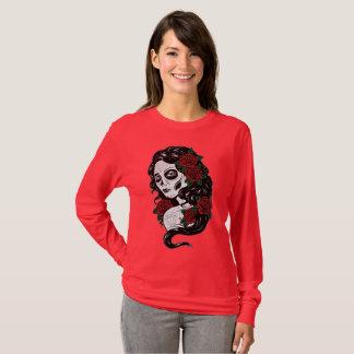 Sugar Skull Woman T-Shirt
