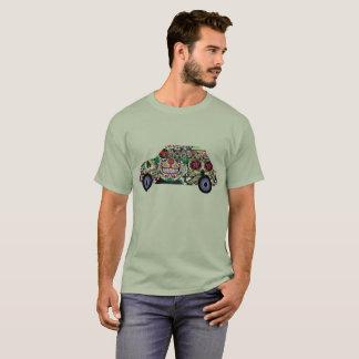 Sugar Skull Wrapped Fiat 595 T-Shirt
