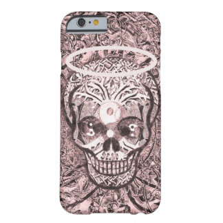 Sugar Skull | Yin Yang Eyes and Halo Barely There iPhone 6 Case