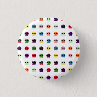 Sugar Skulls 1 Inch Round Button
