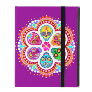 Sugar Skulls iPad 2/3/4 Case (Powis) Cover For iPad