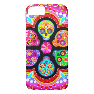 Sugar Skulls iPhone 7 case