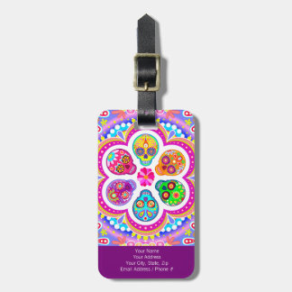 Sugar Skulls Luggage Tag - Customize it!