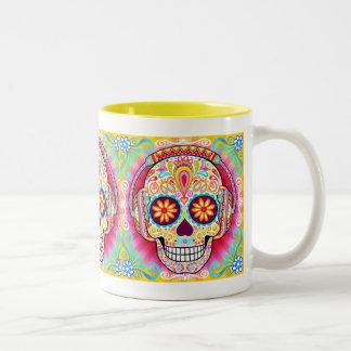 Sugar Skulls Mug - Day of the Dead Mug
