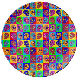 Sugar Skulls Plate