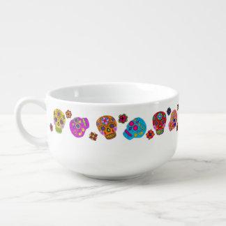 Sugar Skulls Soup Mug