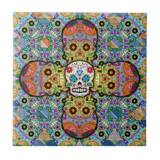 Sugar Skulls Tile