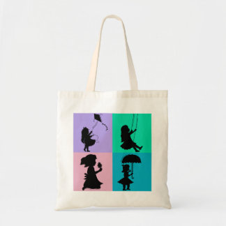 Sugar, Spice and all Things Nice Budget Tote Bag