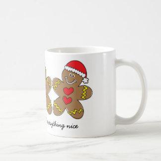 Sugar & Spice Gingerbread Man Mug
