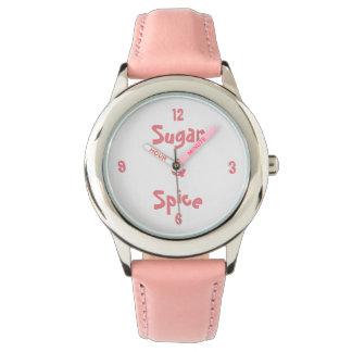Sugar & Spice Wristwatches