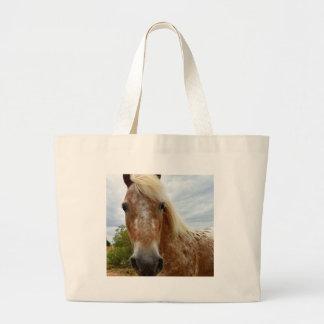 Sugar The Appaloosa Horse,_ Large Tote Bag