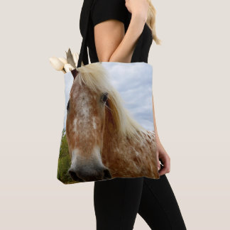 Sugar The Appaloosa Horse, Tote Bag