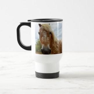 Sugar The Appaloosa Horse, Travel Commuter Mug